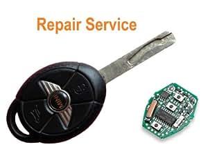 Services de réparation de Passe pour Mini One Cooper S télécommande 3 boutons pour clé de rénovation