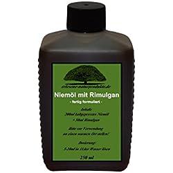 Niemöl mit Rimulgan (Emulgator) 250ml / Niem Neem ***FERTIG GEMISCHT***von erlesene-naturprodukte.de
