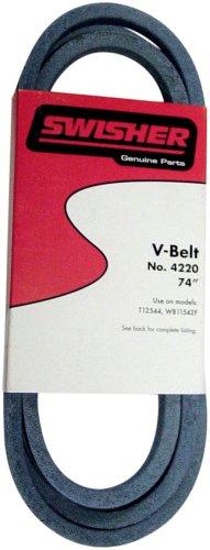 Swisher 422074-inch Gürtel–passend für Select 44-in, 42-in und 22-in Rasenmäher