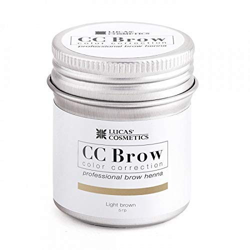 Professional Brow Henna CC BROW by Lucas Cosmetics (Light Brown) -