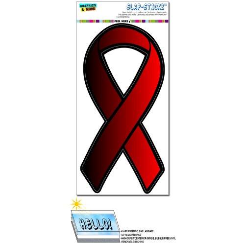 Rot Bewusstsein Unterstützung Band–Aids HIV Slap-Stickz Aufkleber Automotive Auto Fenster Spind Bumper Kofferraum Aufkleber