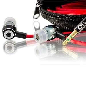 CSL - Écouteur intra-auriculaire 640s Ultimate | Réduction des bruits | EP Power Bass | Nouveau modèle S | Câble plat | Dispositif de transport / Hardcover