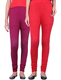 Belmarsh Warm Leggings - Pack of 2 (Mouve_Red)