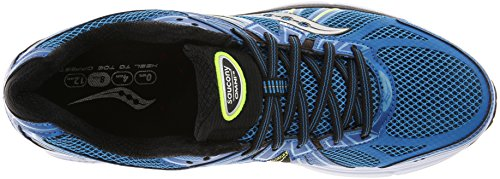 Saucony  Running Powergrid Omni 13, Chaussures de course pour homme Bleu / Noir