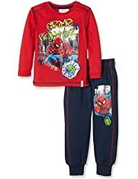 Marvel Spiderman Crime Fighter Sports Set, Ensemble de Pyjama Garçon