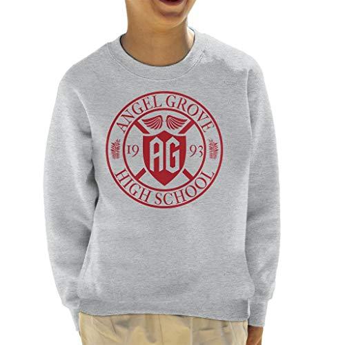 Power Rangers Angel Grove High School Kid's Sweatshirt (Power Kid Ranger)