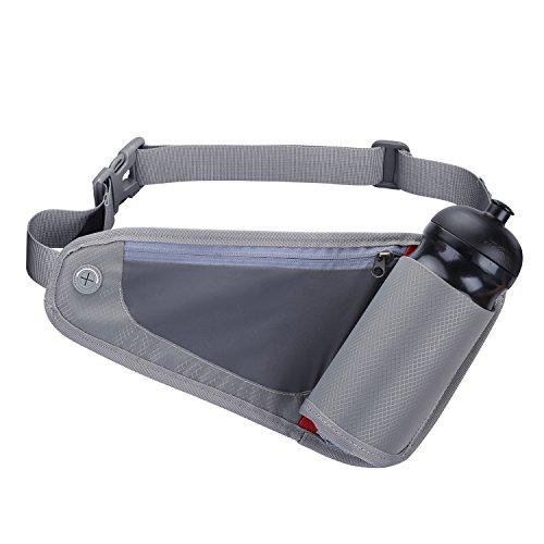 G4Free Correr Cinturón de Hidratación para Corredores Riñonera con Botella  de Agua (no incluido) 58c084ff71a5