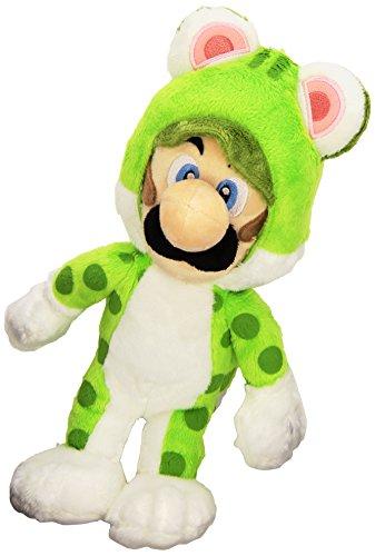 """Luigi Cat - Super Mario 3D World - Sanei -  25cm 10"""""""