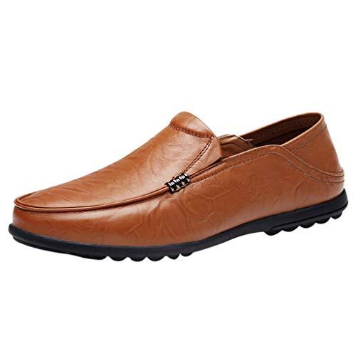 ODRD Männer Schuhe Herren Shoes Large Size England Peas Schuhe Casual Driving Schuhe Breathable Lazy Schuhe Worker Laufschuhe Combat Hallenschuhe Wanderschuhe Freizeitschuhe Sports
