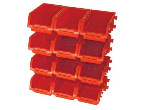 ROSENBERG 12 Kunststoff Lagerplätze mit Wandschiene