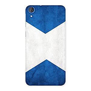 Enticing X Fin Blue Back Case Cover for HTC Desire 820