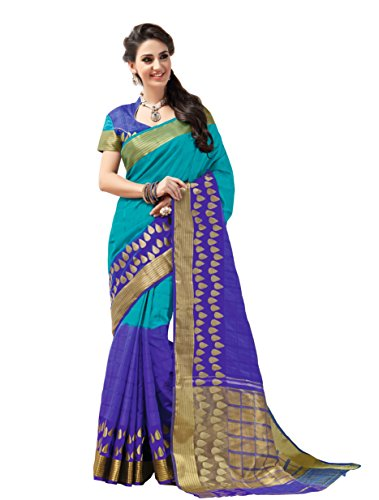 Taanshi Women Tussar Silk Saree With Blouse Pcs-[213]