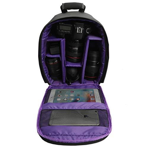 BAGDYW Fotografen DSLR Kamera Rucksack Kameratasche für DSLR Kameras Canon EOS und für Nikon D7100 D7000 D5300 D5100 D5000 D3200 D3100 nimm es auf eine lange Reise -