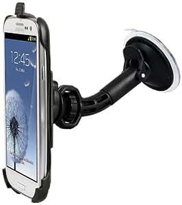Wicked Chili KFZ Halterung für Samsung Galaxy S3 i9300 - 360° drehbar Autohalterung mit QuickFix (vibrationsfrei, Made in Germany)
