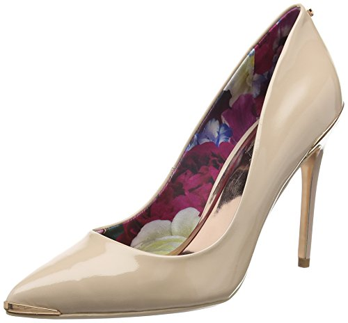 Ted baker kaawa, scarpe con tacco donna, beige (nude), 38 eu
