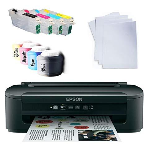 DYE DIN A4 Sublimationsdrucker inkl Tinte und Papier Sublimation Druck Drucker Tassendrucker Textildrucker -