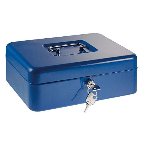 Alco-Albert 874 Euro Zählkassette mit Münzeinsatz, 250 x 180 x 90 mm, dunkelblau