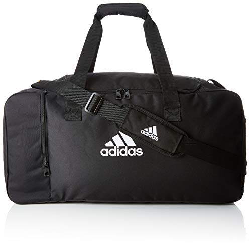 adidas Sports Bag TIRO DU M, black/white, One Size, DQ1071