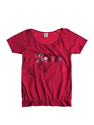 Roxy Mädchen T-Shirt Pink Rosa, Pink 14 Jahre (Pink Roxy Shirt)