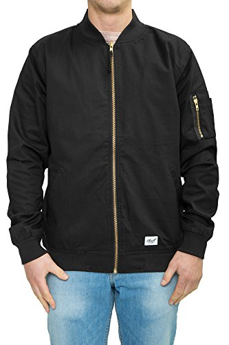 Preisvergleich Produktbild Reell Flight Jacket,  Black S Artikel-Nr.1306-006 - 01-039