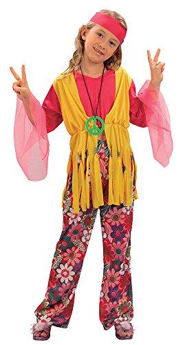 Bristol Novelty CC619 Hippie Mädchen Kostüm
