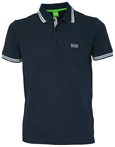 BOSS Athleisure Herren Poloshirt Paddy, Einfarbig, Gr. XXX-Large, Blau (Navy 414)