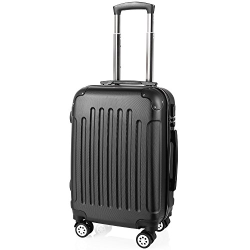 Valises Cabine - Bagage Cabine - Valise Cabine 55x35x25 - Valise Avion Ccabine - Valise Taille - Valise 4 Roues- Bagage Cabine Air France - ABS -20 Pouce - 54 cm