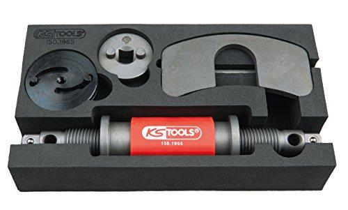 Vorrichtung Werkzeug (KS Tools 150.1965 Universal Druck- und Dreh-Vorrichtungs-Satz, 4-tlg.)