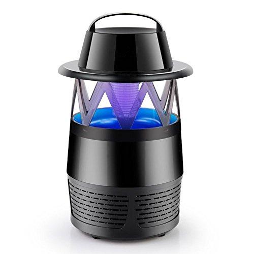 Home-Neat Umweltfreundliche LED Mückenfalle (Verbessertes Model), Insektenfalle Mit Vakuum Ventilator Zum Fangen Von Kleinen Insekten, Inklusive Kostenlosen Mückenlockstoff USB wechseln