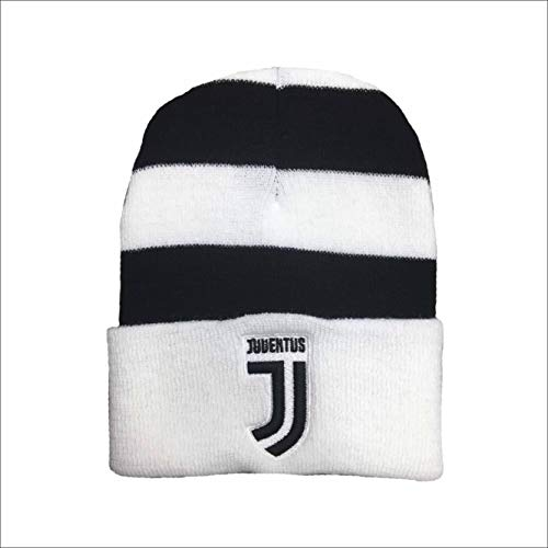 Official Juventus cap 2018 2019 New Logo White Stripes Adult Official  Product 7c147016019a