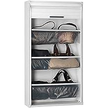 Gallery Of Garofalo M Meuble Chaussures Paires Pvc Pour Porte Coulissante  Blanc With Rideau Coulissant Pour Meuble