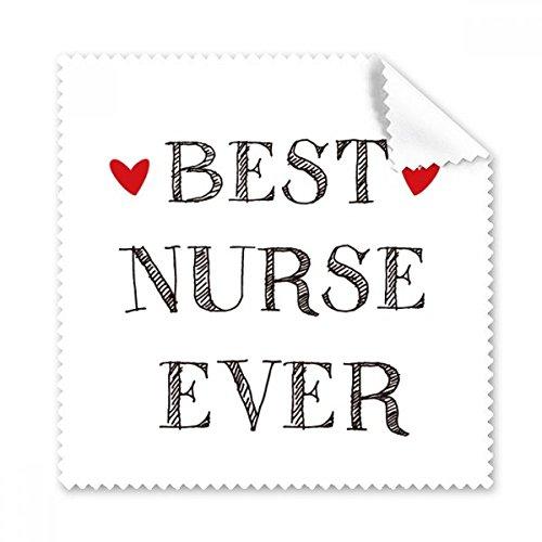 DIYthinker Krankenschwester jemals-Zitat Respected Brillenputztuch-Reinigungstuch Geschenk Telefon Screen Cleaner 5pcs