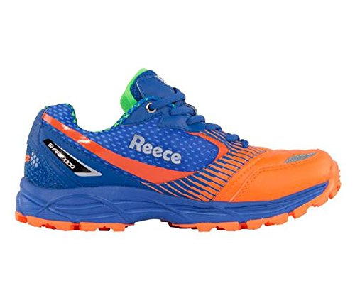 Reece Hockey Shark Hockey Schuh - BLUE-ORANGE, Größe #:8.5