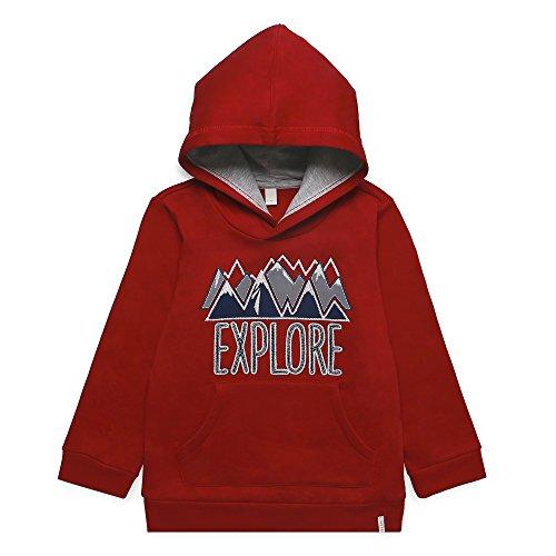 ESPRIT KIDS Jungen RK15134 Sweatshirt, Rot (Dark Red 370), 104
