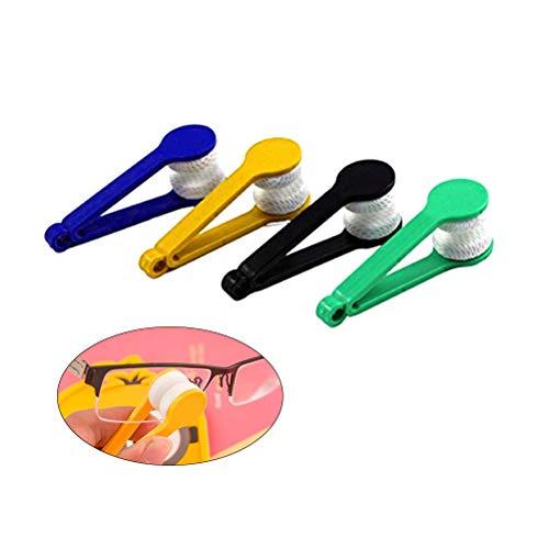Rosenice Brillenreiniger, 5 Stück, weiche Bürste, Reinigungswerkzeug für Brillen (wie abgebildet)
