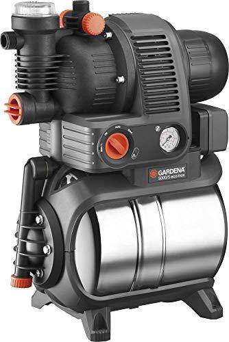 Gardena 01756-61 Hauswasserwerk 5000/5 eco inox 1200 W, türkis, schwarz, Orange