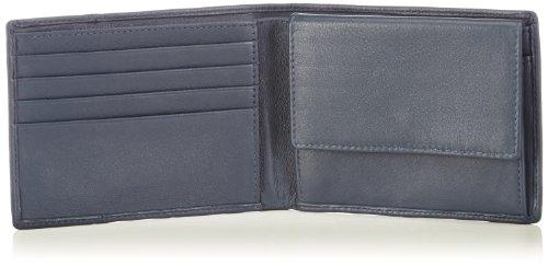 Bugatti Bags Manhattan 49111905 Unisex-Erwachsene Geldbörsen 12x9x1 cm (B x H x T) Blau (blau 05)