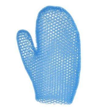 Supracor Spa Bad Handschuh Gesicht Körper Peeling, Scrub mit antibakterieller Schwamm von Supracor, Blau (Blau-peeling Scrubs)
