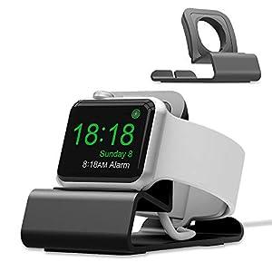iitrust Aluminium Uhr Ständer für Apple Watch Series 1/2/3/4, Enthält KEIN Kabel