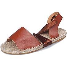 Minetom Chanclas Mujer Sandalias Chic Flip Flops Planas Zapatillas Verano Bowknot Peep Toe Hebilla Zapatos Leopardo
