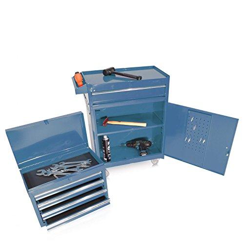 Werkzeugwagen mit Aufsatz S10 blau - 4