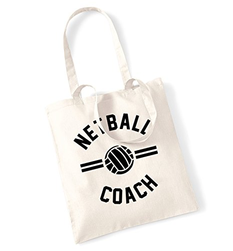 netball coach tote bag -