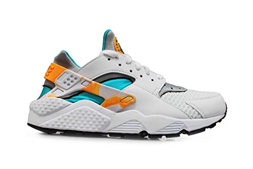 Nike Herren Air Huarache Sneakers white atomic mango turbo green 183