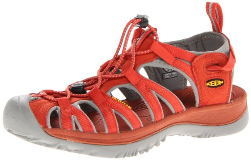 Keen WHISPER W-BOSSA NOVA/NEUTRAL GRAY, Sandali donna, Rosso (Rot (BOSSA NOVA/NEUTRAL GRAY)), 37