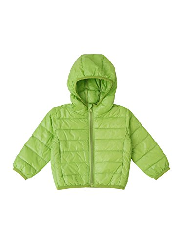 Lilliput down filled Neon Green Kids Jacket(110003421)