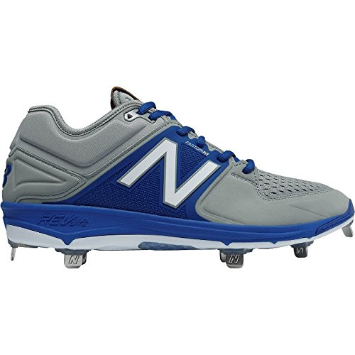 New Balance Mens L3000V3 Baseball Shoe rouge/blanc