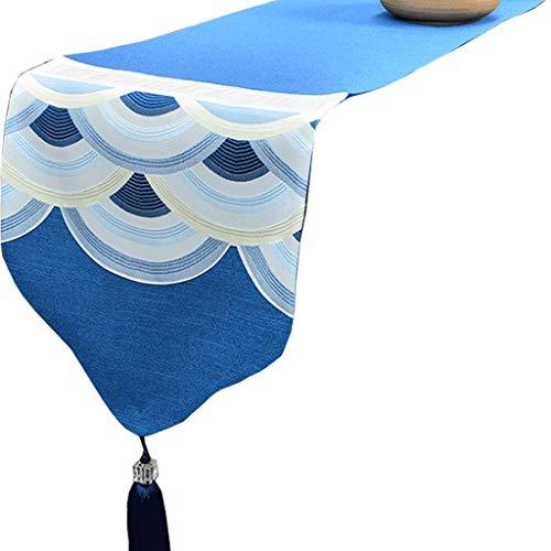 Tischfahne Tischläufer-Tischdecken-Fernsehmöbel-Tee-Flaggen-Fernsehmöbel-Kaffeetisch stark und haltbar einfach zu säubern 33 * 160CM ZHJING