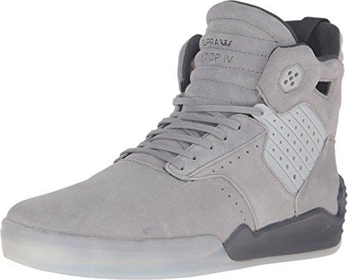 Supra Skytop Iv, Herren Sneakers, schwarz - schwarz - Größe: Medium / 8.5 C/D US Women / 7 D(M) US Men