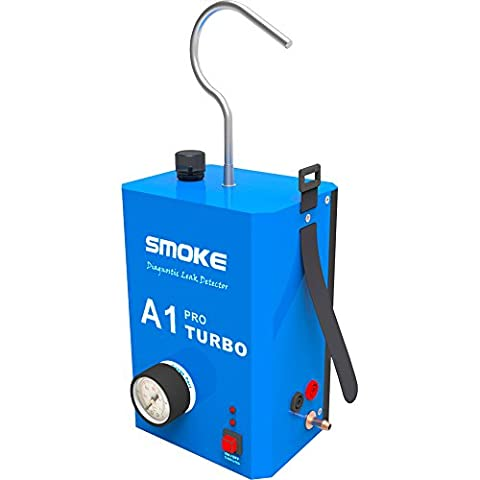 SMOKE A1 Pro Turbo Smoke Automotive Diagnostic Leak Detector for Motorcycle/ Car/ SUV/ Truck Instead of ALL100