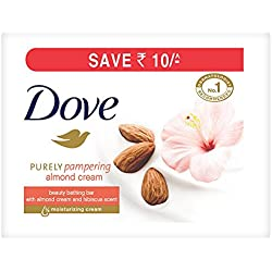 Dove Almond Cream Beauty Bathing Bar, 100g (Pack of 3)